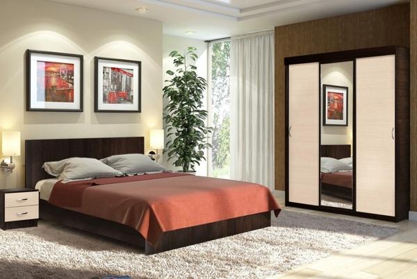 Комплект для спальни Онтарио 4 2