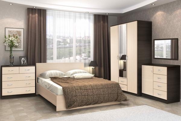 Комплект для спальни Онтарио 4 4
