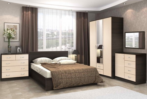 Комплект для спальни Онтарио 4 5