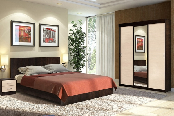 Комплект для спальни Онтарио 4 8