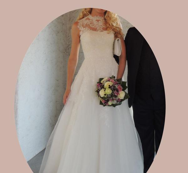 Продам свое свадебное платье Octavia от Pronovias 3