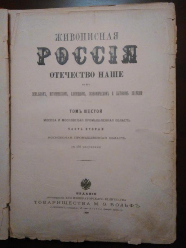 Живописная Россия. Антиквариат 6