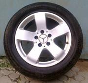 Диски литые R16 для Mersedes Benz комплект (4шт и  20 болтов)