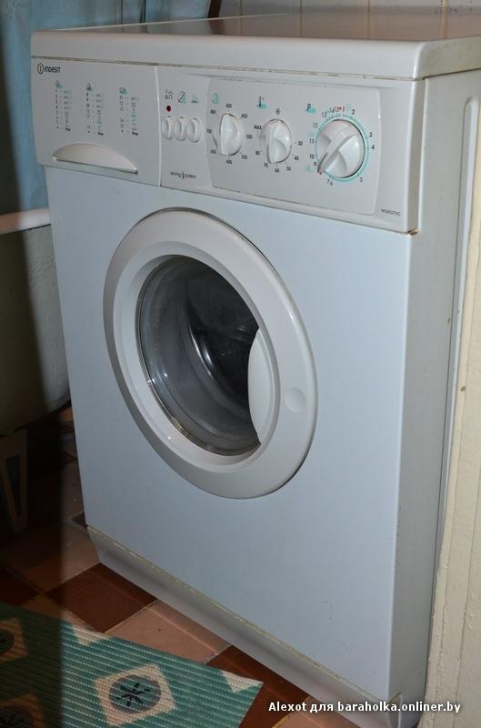 Indesit стиральная машина инструкция
