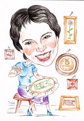 Оригинальные подарки на 23 февраля или 8 марта -шарж или портрет
