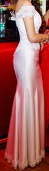 Элегантное  Вечернее платье ручной работы