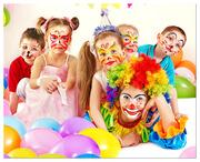 Подарим праздник Вашему ребенку! День рождения с клоуном у Вас дома!