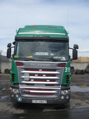 Продается автопоезд Scania R420   Schmitz ( мега)