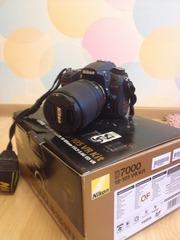 Продвинутая зеркальная фотокамера Nikon D7000 Kit 18-105mm