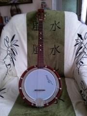 Продам банджо 4-х струнное,  чешское или типа того, делалось еще при  Ст