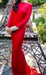 Дизайнерское платье Tarik Ediz