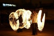Факир огненное неоновое шоу на ваши праздники фаер шоу минск