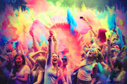 Индийские краски Холи оптом и в розницу