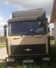 Продам МАЗ 64229 с полуприцепом KRONE SPD27