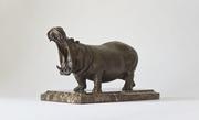 бронзовая скульптура Бегемот