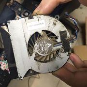 Чистка ноутбука от пыли + замена термопасты + смазка кулера за 25 рублей
