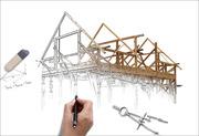 Эскизные проекты (архитектурная концепция) домов,  зданий,  застройки